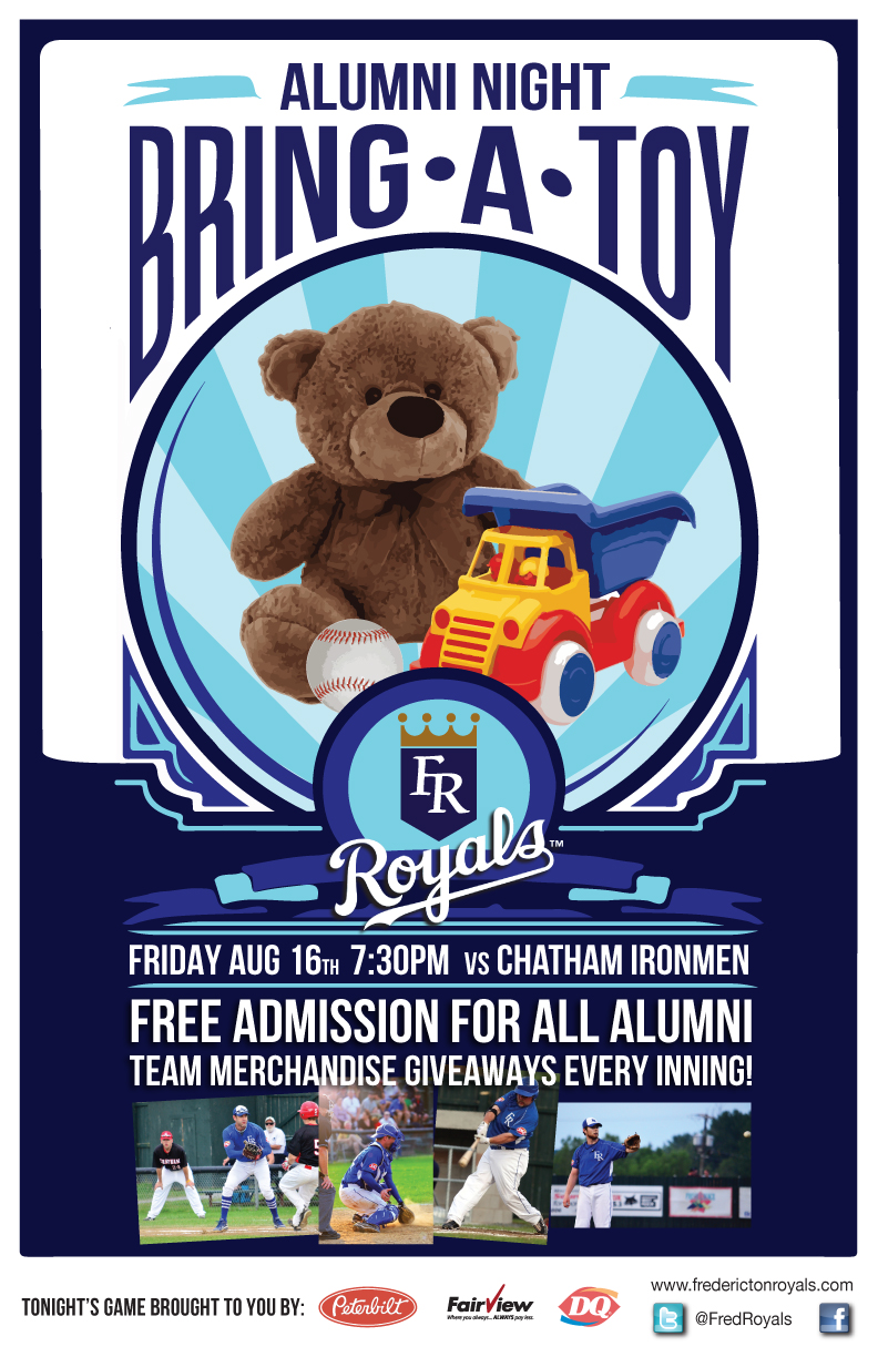 Toys For Tots Posters 2013 : Bring a toy for kids alumni night friday